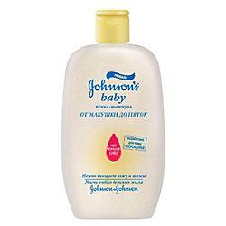 Пенка-шампунь От макушки до пяток, Johnson s baby, 300 мл