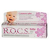 Зубная паста для малышей с ароматом липы, R.O.C.S., 45 г