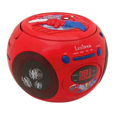 Spider-Man CD-Player mit Radio