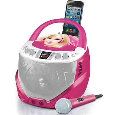 barbie cd player mit karaoke barbie mytoys. Black Bedroom Furniture Sets. Home Design Ideas