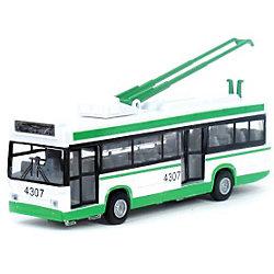 Троллейбус, со светом и звуком, ТЕХНОПАРК, в ассортименте