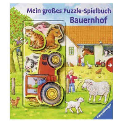 mein gro es puzzle spielbuch bauernhof anne m ller mytoys. Black Bedroom Furniture Sets. Home Design Ideas