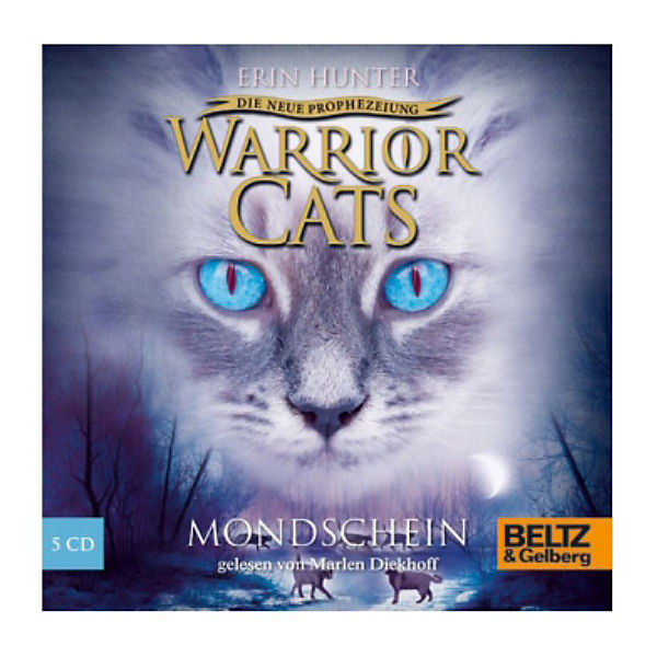 Warrior Cats - Die neue Prophezeiung: Mondschein, 5 Audio-CDs