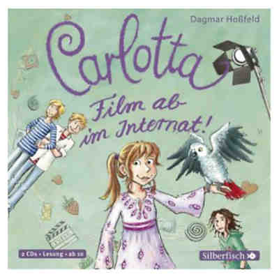 Carlotta: Film ab im Internat!, 2 Audio-CDs