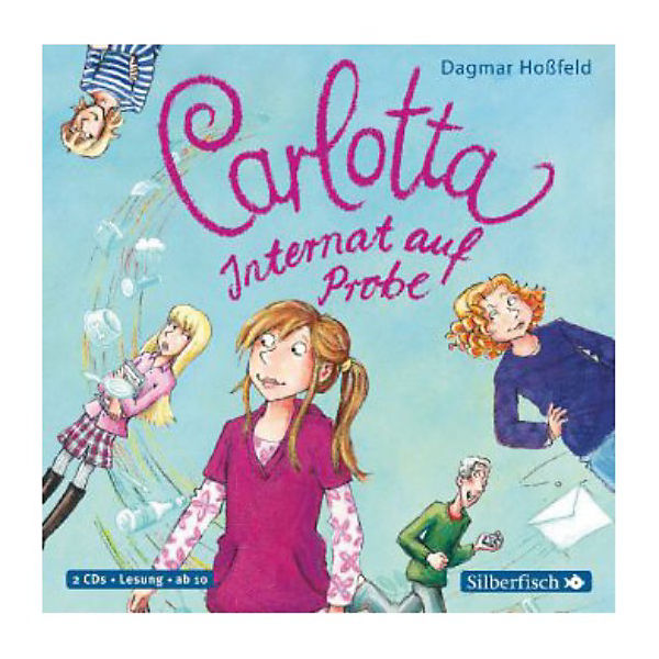 Carlotta: Internat auf Probe, 2 Audio-CDs