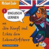 Englisch lernen mit Jim Knopf und Lukas dem Lokomotivführer, Band 1, 1 Audio-CD