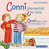 Meine Freundin Conni: Conni übernachtet bei Julia / Conni geht nicht mit Fremden mit, 1 Audio-CD