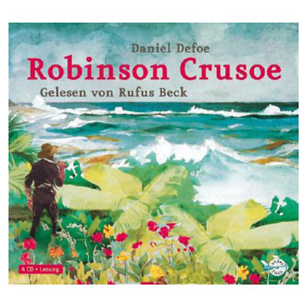 Robinson Crusoe, 4 Audio-CDs