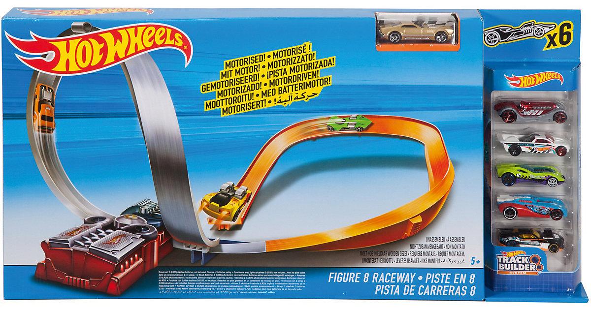 Hot Wheels FIG 8 RACEWAY W/5 CARS