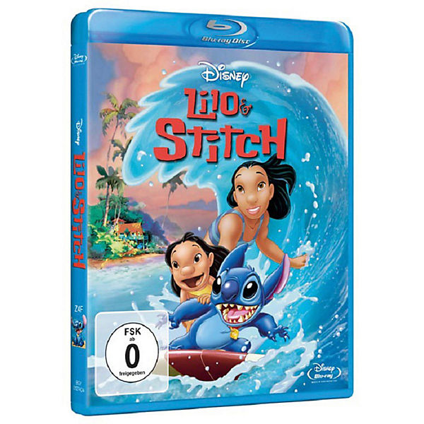 BLU-RAY Disney's - Lilo & Stitch