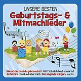 CD Unsere besten Geburtstags- und Mitmmachlieder