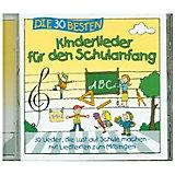 CD Die 30 besten Kinderlieder für den Schulanfang