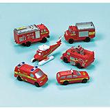 Spielzeugautos Feuerwehr, 6 Stück
