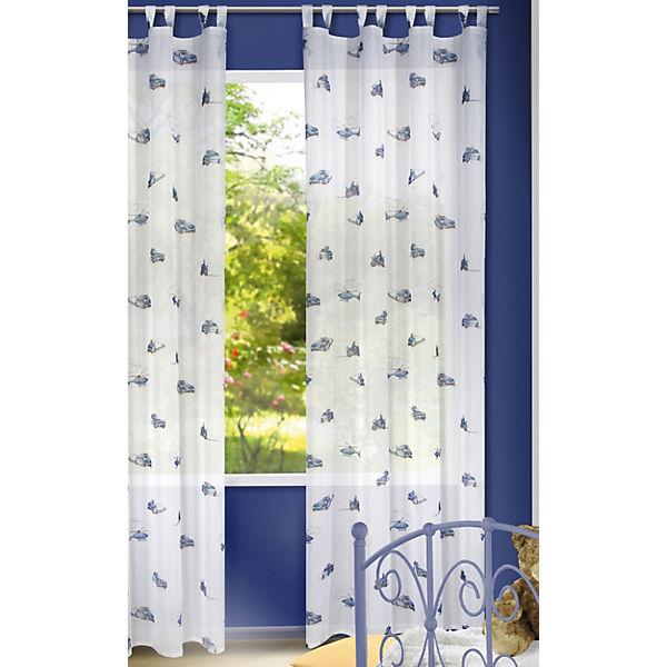 gardine polizei 245 x 140 cm 1 schal mytoys. Black Bedroom Furniture Sets. Home Design Ideas