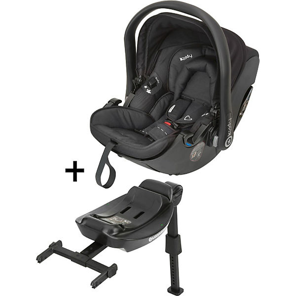 Babyschale Evolution Pro 2 mit Isofix Base 2, racing black