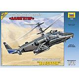 """Сборная модель вертолета Ка-52 """"Аллигатор"""", Звезда"""