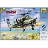 """Сборная модель вертолета """"МИ-28А"""", Звезда"""
