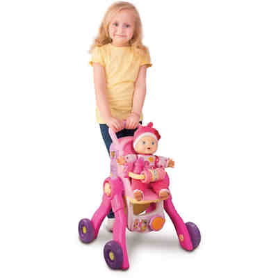 Little Love - 3-in-1 Magischer Puppenwagen