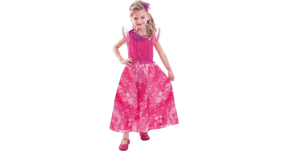 Kostüm Barbie und die geheime Tür Value Gr. 104/116 Mädchen Kleinkinder
