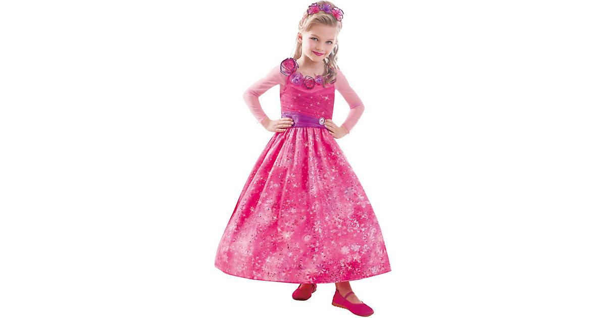 Kostüm Barbie und die geheime Tür Classic Gr. 116/128 Mädchen Kinder