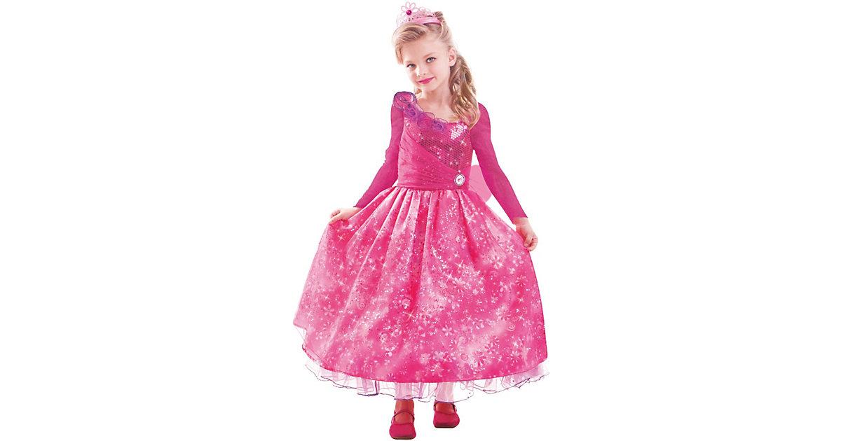 Kostüm Barbie und die geheime Tür Premium Gr. 128/152 Mädchen Kinder