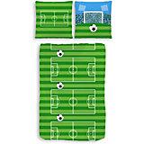 Kinderbettwäsche Fußball, Biber, 135 x 200 cm