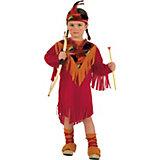 Kostüm Kleine Indianerin Roter Adler