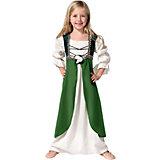 Kostüm Mittelalterliche Hortensia grün