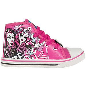 Кеды для девочки Monster High - фуксия