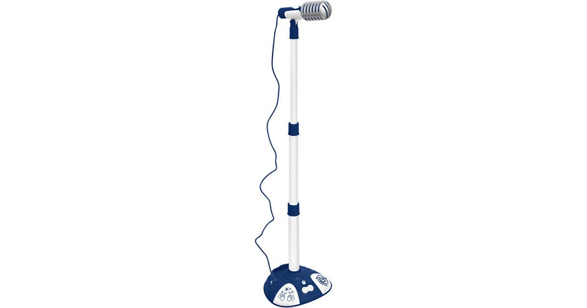 ICom Mikrofon mit höhenverstellbarem Mikrofonständer, 3 Soundeffekten und Klangeffekte