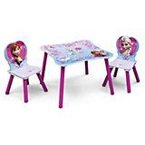 Kindersitzgruppe 3-tlg., Die Eiskönigin