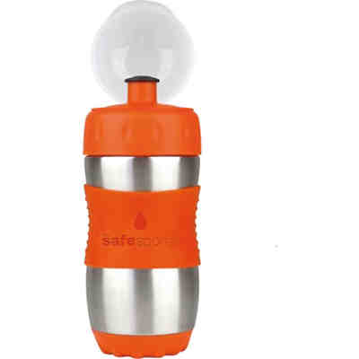 Safe Sporter Trinkflasche, 355 ml, Orange