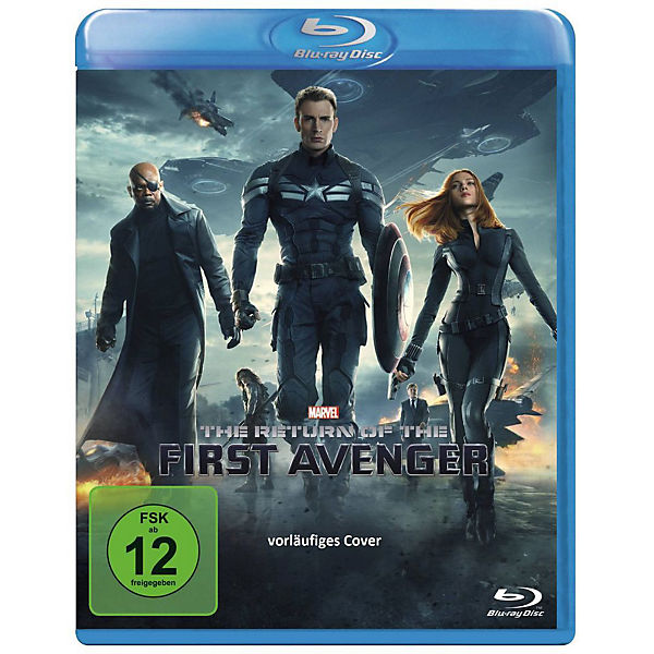 BLU-RAY The Return of the First Avenger
