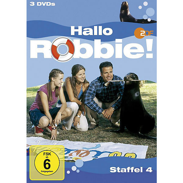 DVD Hallo Robbie! - Staffel 4
