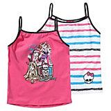 MONSTER HIGH Unterhemden Doppelpack für Mädchen