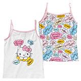 HELLO KITTY Unterhemden Doppelpack für Mädchen