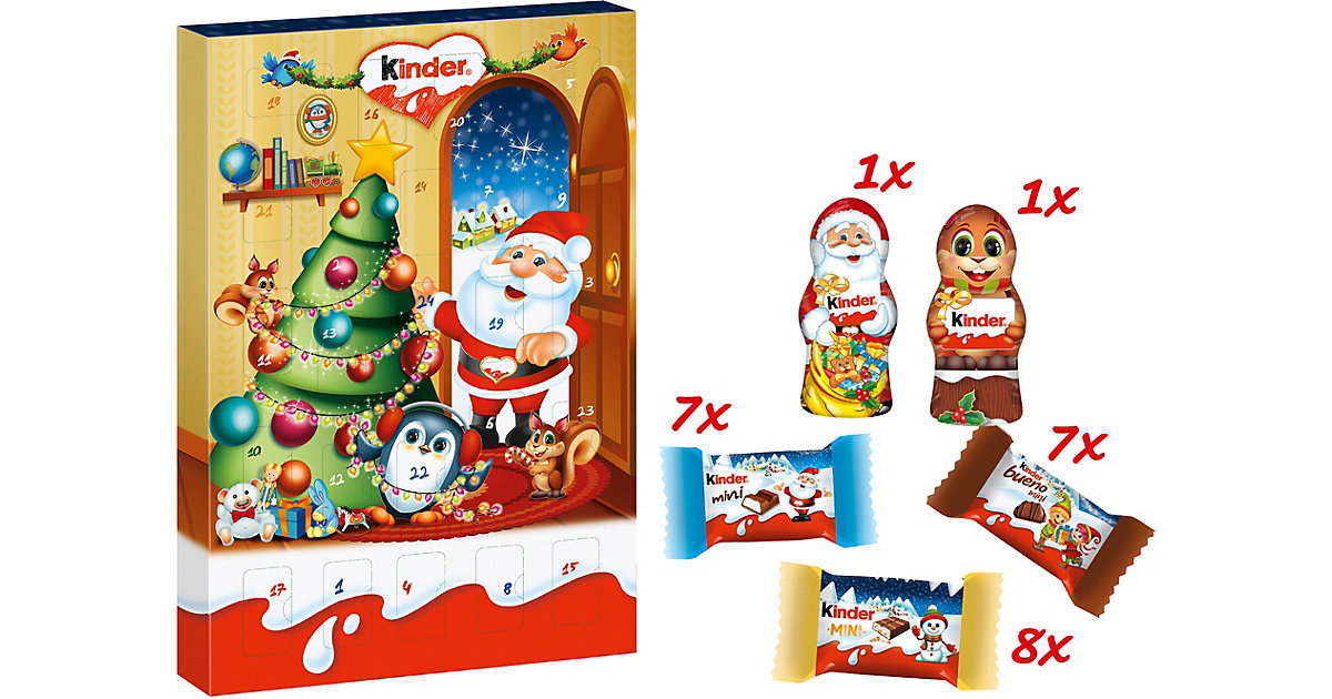 Kinder Mini-Mix Adventskalender