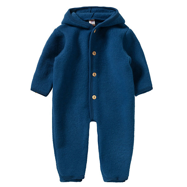 Baby Fleeceoverall Wolle