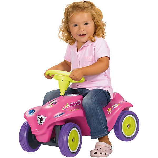 BIG NEW Bobby Car Minnie Mouse, pink