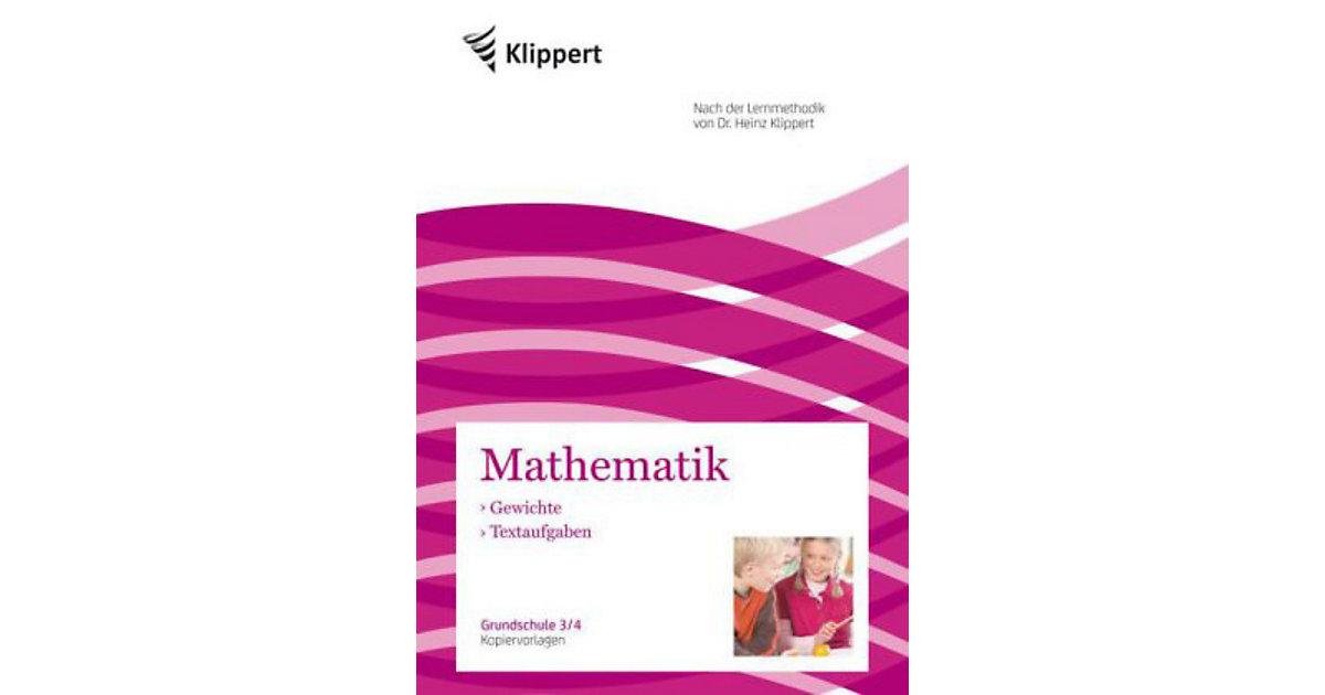Mathematik: Gewichte - Textaufgaben, Grundschul...