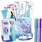 Die Eiskönigin Mini Skizzenblock mit Stiften
