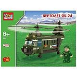 Конструктор Вертолет ЯК-24, 350 дет., Город мастеров