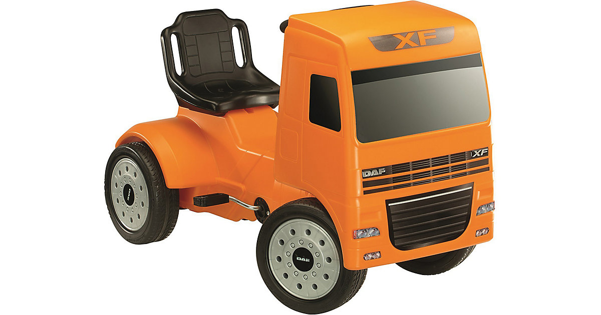Pedal Truck DAF XF orange