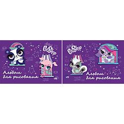 Альбом для рисования, 20 листов, Littlest Pet Shop
