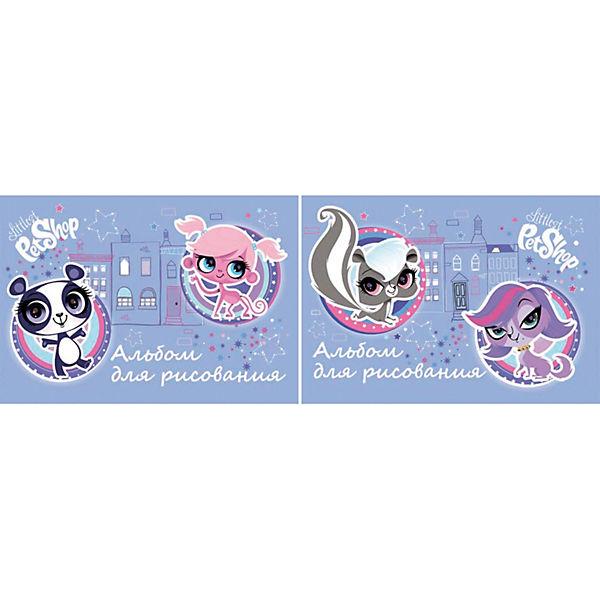 Альбом для рисования, 40 листов, Littlest Pet Shop