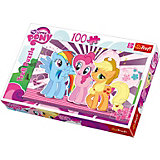 "Пазл ""My little Pony"", 100 деталей, Trefl"