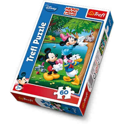 Puzzle 60 Teile - Disney Standard Charakters