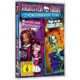 DVD Monster High - 2 Monsterkrasse Filme Vol. 2 (Flucht von der Schädelküste & Monster- oder Musterschule)