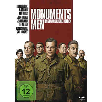 DVD Monuments Men