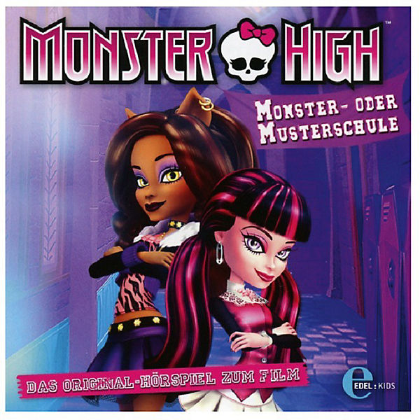 CD Monster High - Monster- oder Musterschule